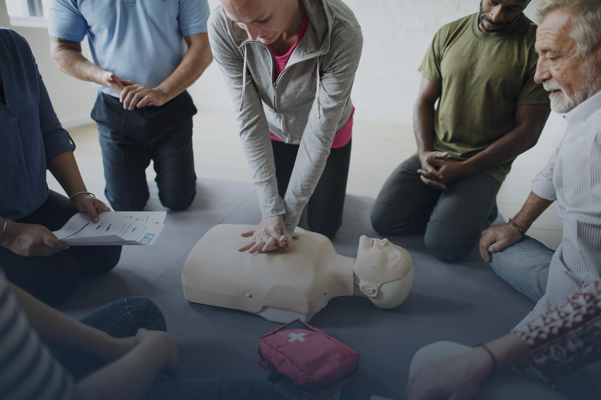 First Aid, Resuscitation and Rescue Training